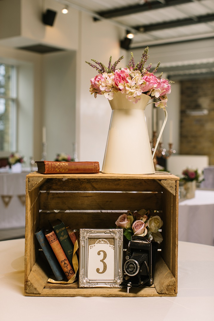 Vintage and Rustic Wedding Styling by Yorkshire Rose Wedding Hire